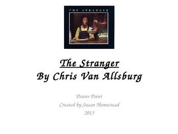The Stranger by Chris Van Allsburg Vocabulary  Pres.- Houg