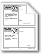 The Strongest Kid (Grade 2 Daily Word Problems-Week 17)