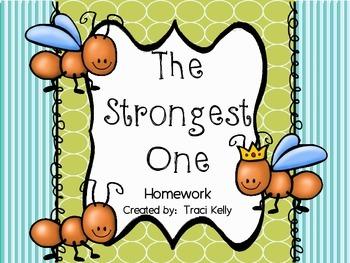 The Strongest One Homework - Scott Foresman 2nd Grade