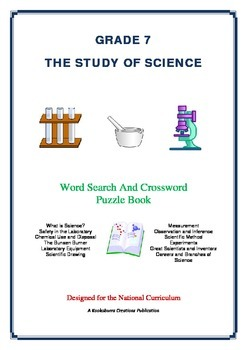 The Study of Science - 51 Pages - Wordsearch and Crossword