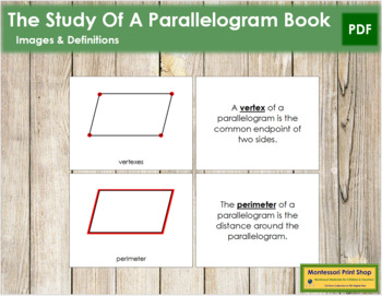 The Study of a Parallelogram Book