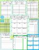 The Stylish 2016 Teaching Planner Calendar - Editable & FR