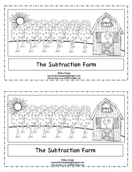 """The Subtraction Farm""-Word Problem Emergent Reader for Ki"