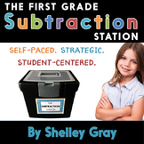 The First Grade Subtraction Station