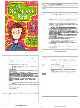 The Suitcase Kid Guided Reading Plans