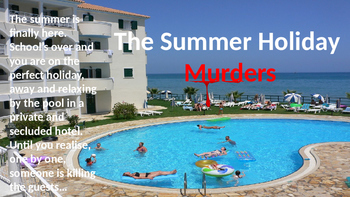 The Summer Holiday Murders - Creative Writing Lesson