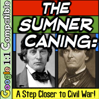 Sumner Caning: One Step Closer to Civil War!  Engaging & I