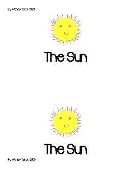The Sun 1st grade reader