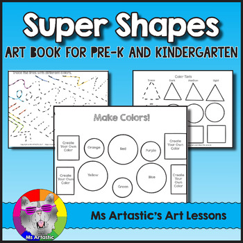 Learn about Shapes, Color, Line and Pattern Art Lessons