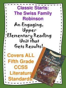 The Swiss Family Robinson Reading Unit Novel Study