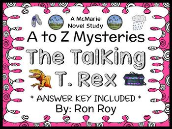 The Talking T. Rex : A to Z Mysteries (Ron Roy) Novel Stud