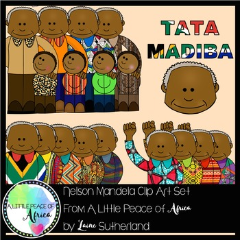 The Tata Madiba (Nelson Mandela) Clip Art Collection