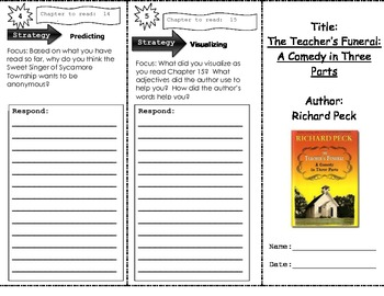 The Teacher's Funeral Trifold