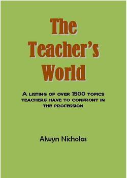 The Teacher's World