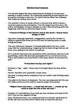 The Tell-Tale Heart - Edgar Allan Poe FULL Analysis (Editable)