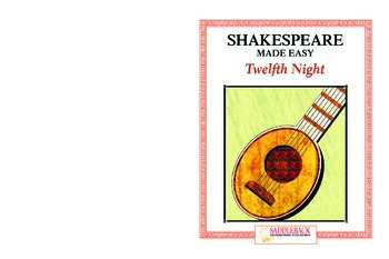 Twelfth Night Reading Guide (Shakespeare Made Easy)