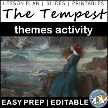 The Tempest Themes Textual Analysis Activity