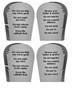 The Ten Commandments Word Search