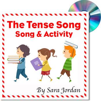 """The Tense Song"" - MP3 Song w/ Lyrics & Activity Teaching Tense"