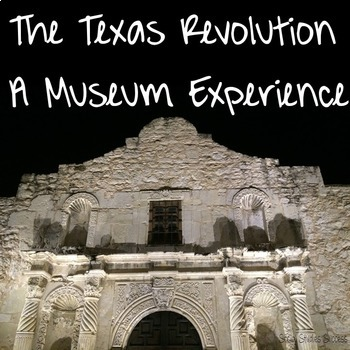 Texas Revolution Reading and Writing Activity
