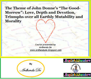 "The Theme of John Donne's ""The Good-Morrow"""