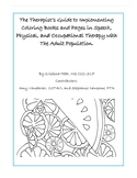 The Therapist's Guide to Implementing Coloring Books and P