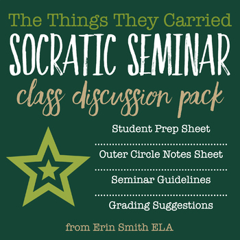 The Things They Carried Socratic Seminar Pack