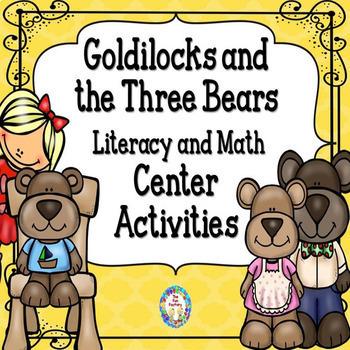 The Three Bears Literacy and Math Centers  PK/K