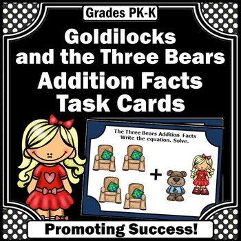 Goldilocks and the Three Bears Math Addition Facts Up to 1