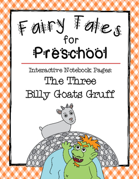 The Three Billy Goats Gruff {Interactive Notebook Pages fo