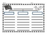 The Three Branches of Government Prewrite Graphic Organizer