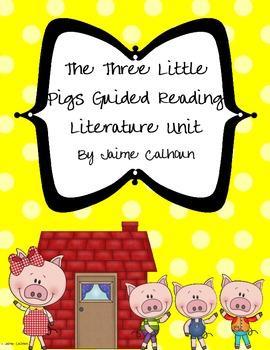 The Three Little PIgs Literature Unit *FREEBIE*