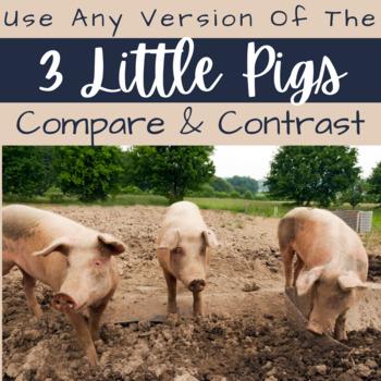 The Three Little Pigs Common Core RL.2.9 Compare Multiple