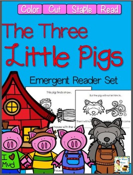 The Three Little Pigs Emergent Readers