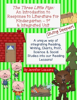 The Three Little Pigs: Integrated Reading Unit w/ Science
