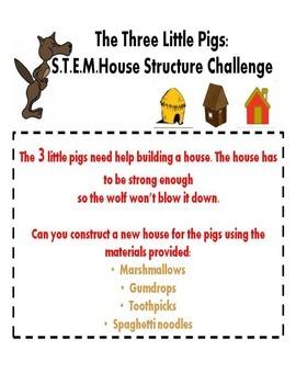 The Three Little Pigs-STEM Activity!