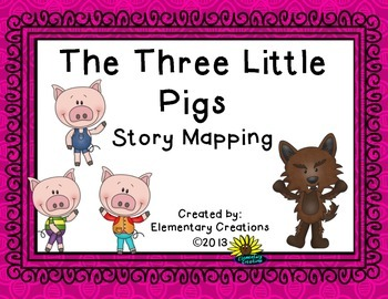 The Three Little Pigs Story Mapping Revised