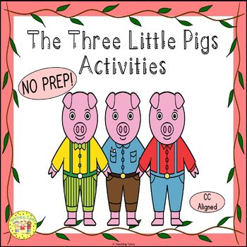 The Three Little Pigs Fairy Tales Worksheets Activities Ga