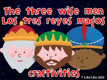 The Three Wise Men and Camel craftivity