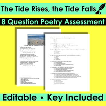 The Tide Rises, The Tide Falls by Longfellow - Poetry Anal