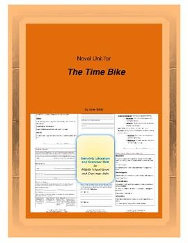 The Time Bike Novel Unit