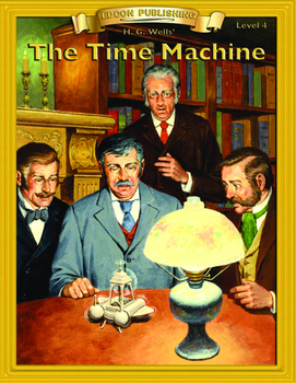 The Time Machine RL4-5 Adapted and Abridged Novel