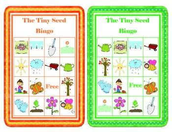 The Tiny Seed Bingo Cards