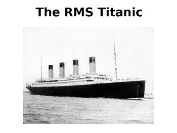 The Titanic - Only known black passenger