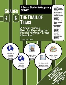 The Trail of Tears: (1838-1839) SmartBoard & Student Sheet