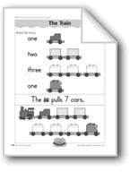 The Train (counting/writing numbers)