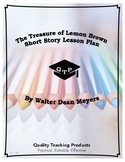 The Treasure of Lemon Brown Lesson Plans, Worksheets, Resources