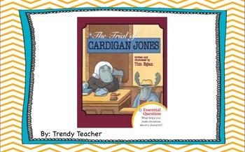 The Trials of Cardigan Jones Journey's flipchart