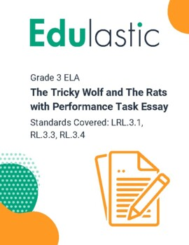 The Tricky Wolf and The Rats with Performance Task Essay (