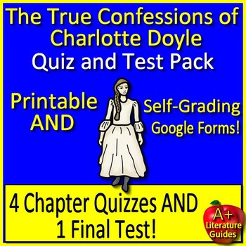 The True Confessions of Charlotte Doyle Novel Study Test B